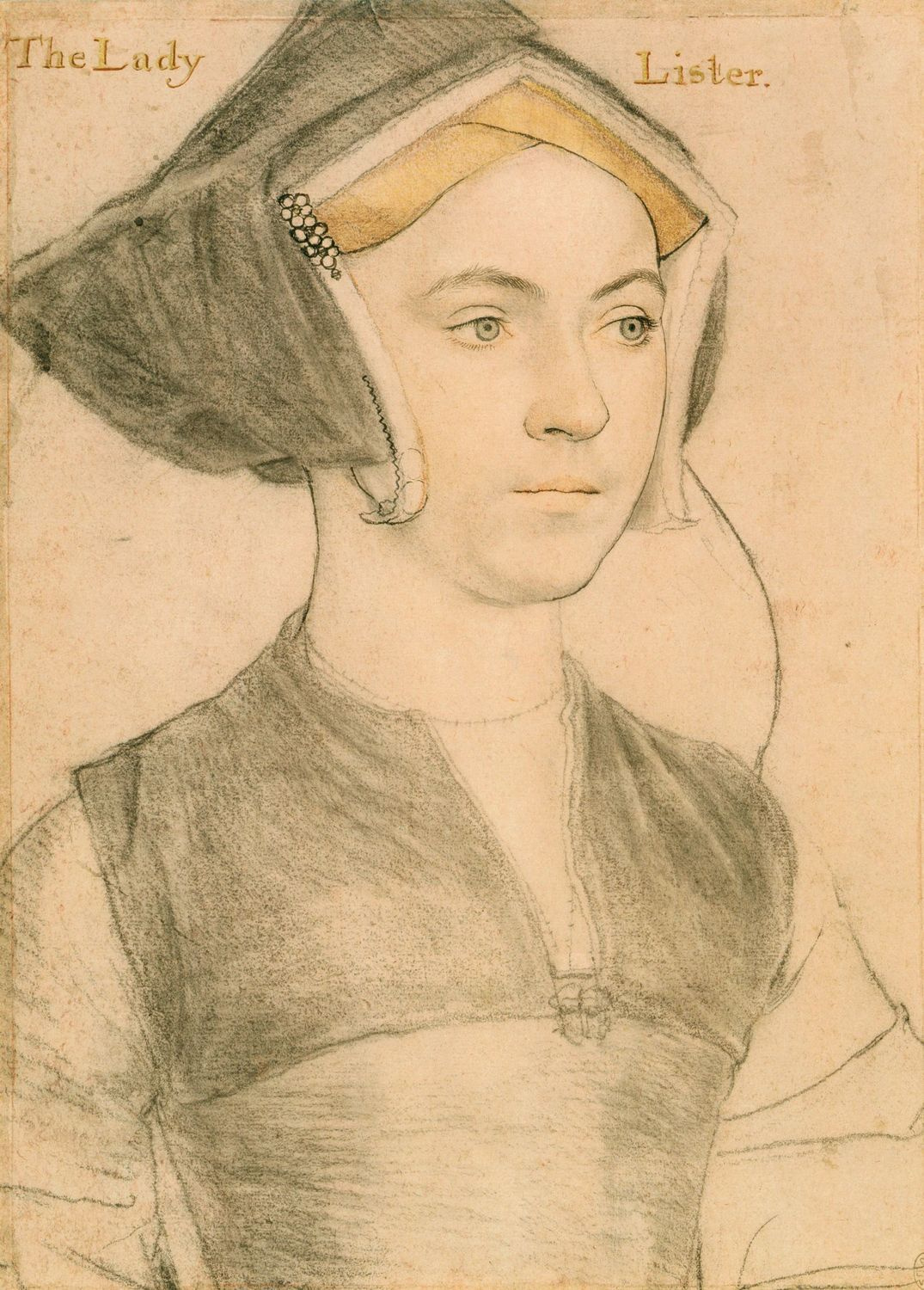 Portrait of Jane, Lady Lister. c.1532-43