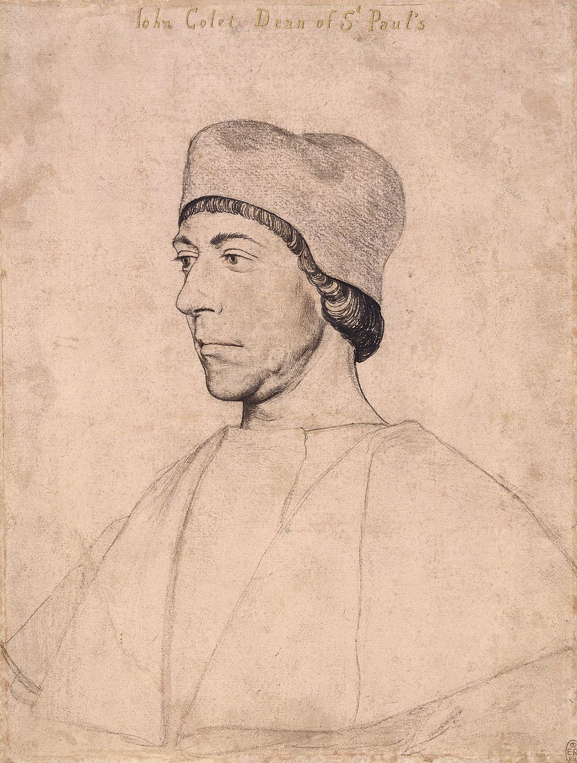 Portrait of John Colet. c.1535