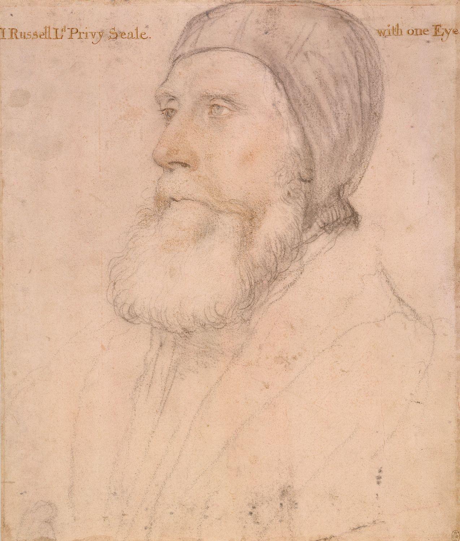 Portrait of John Russell, Earl of Bedford. c.1532-43