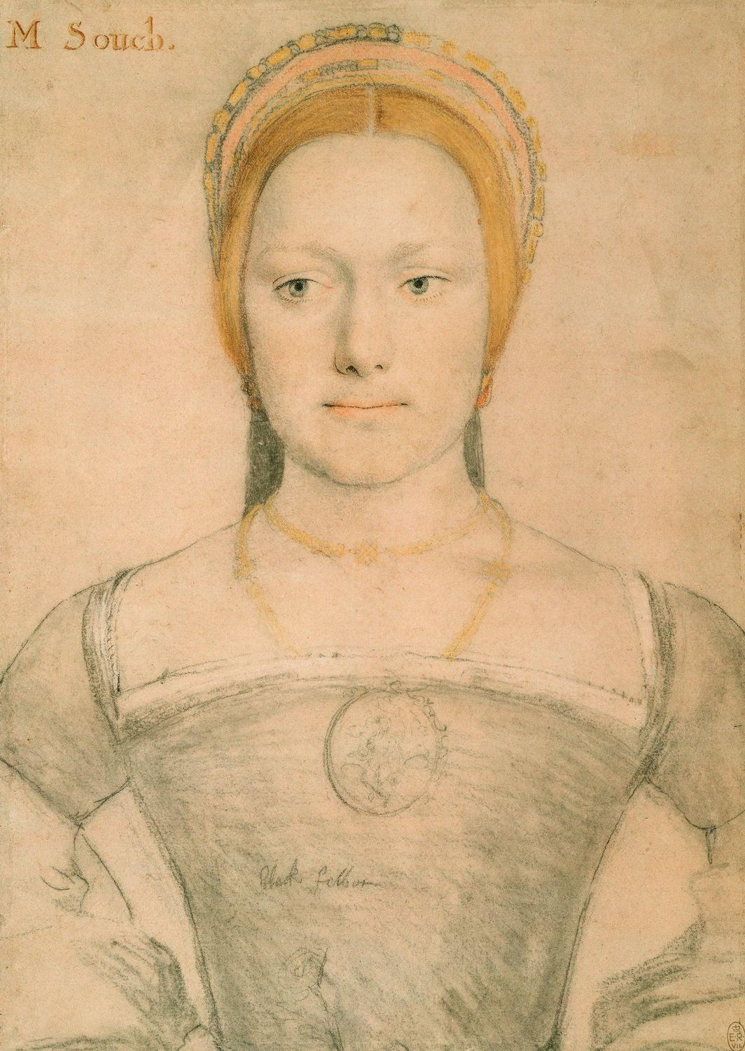 Portrait of M. Zouch. c.1538