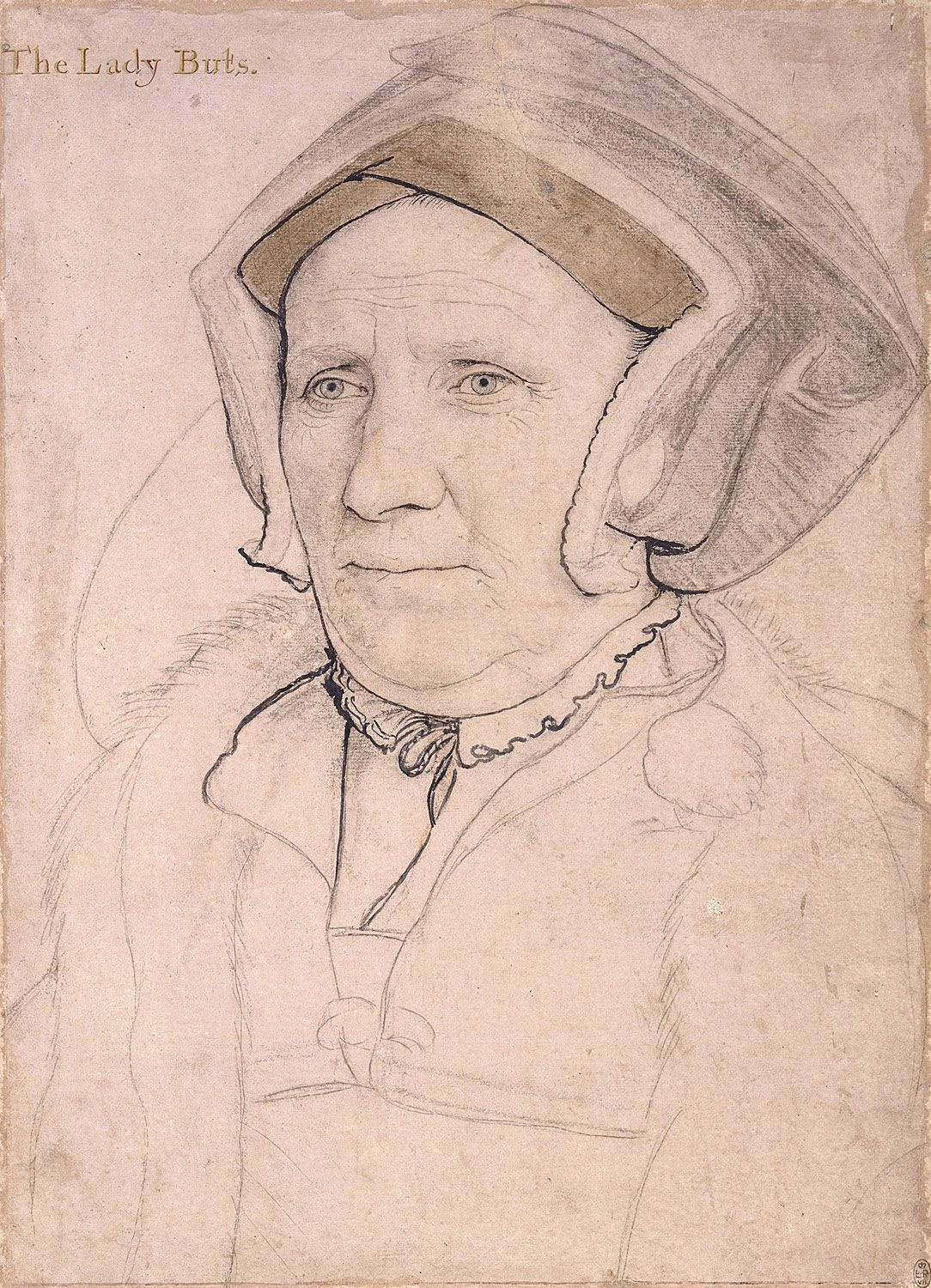 Portrait of Margaret, Lady Butts. c.1541-43