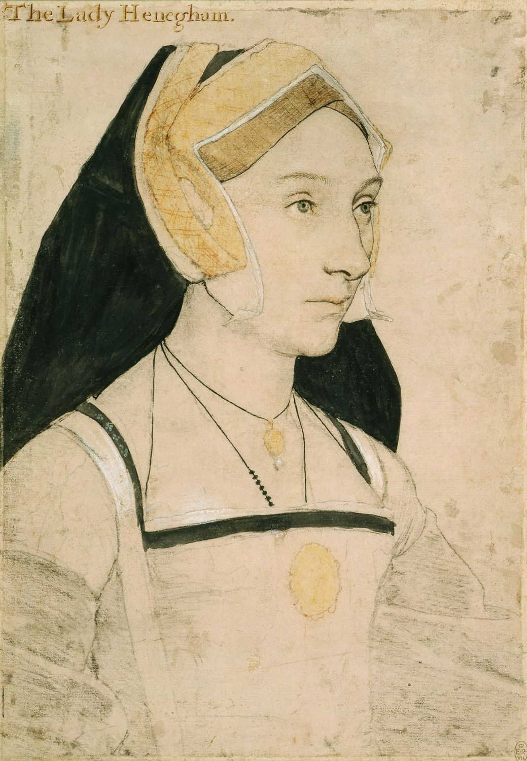 Portrait of Mary, Lady Heveningham. c.1532-43
