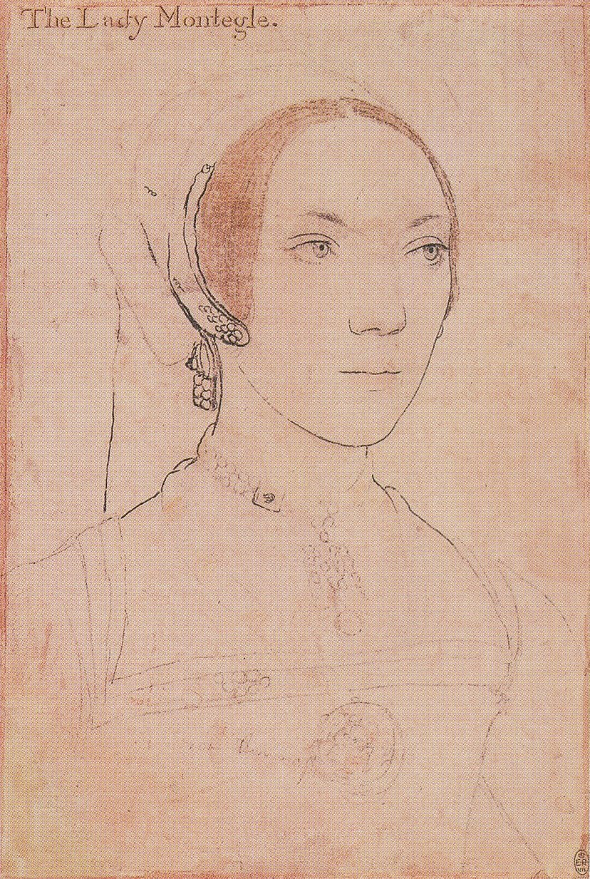 Portrait of Mary, Lady Monteagle. c.1538-40