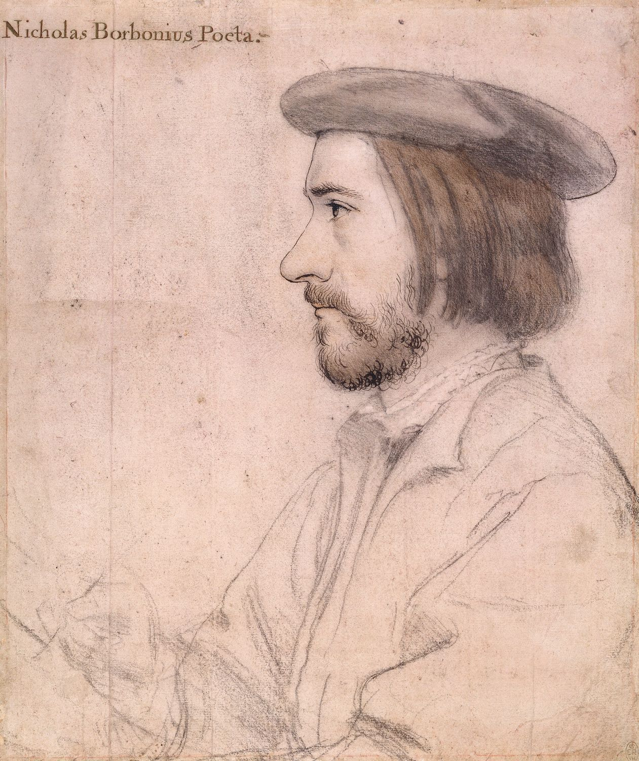 Portrait of Nicolas Bourbon. 1535