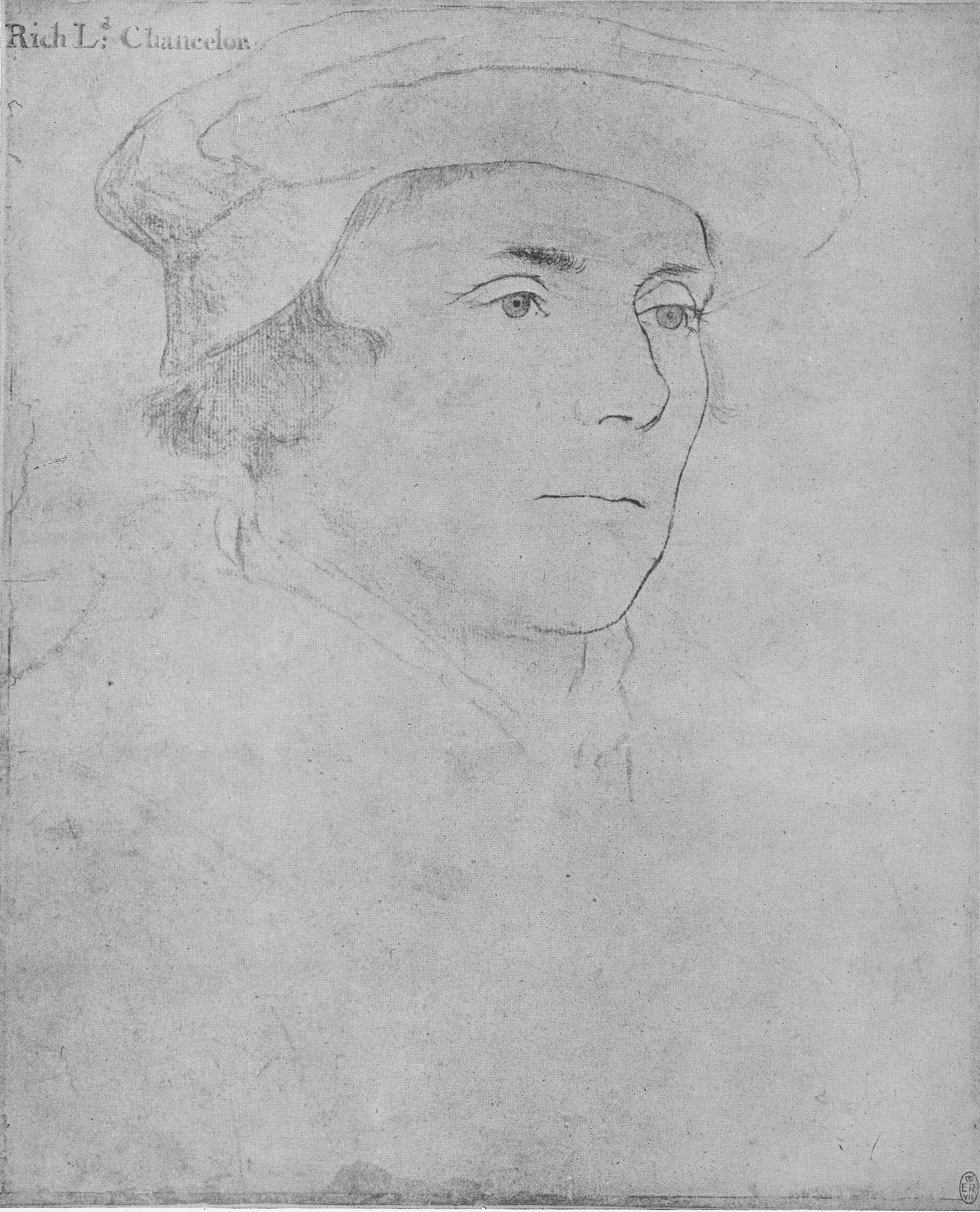 Portrait of Richard, Baron Rich. 1532-43