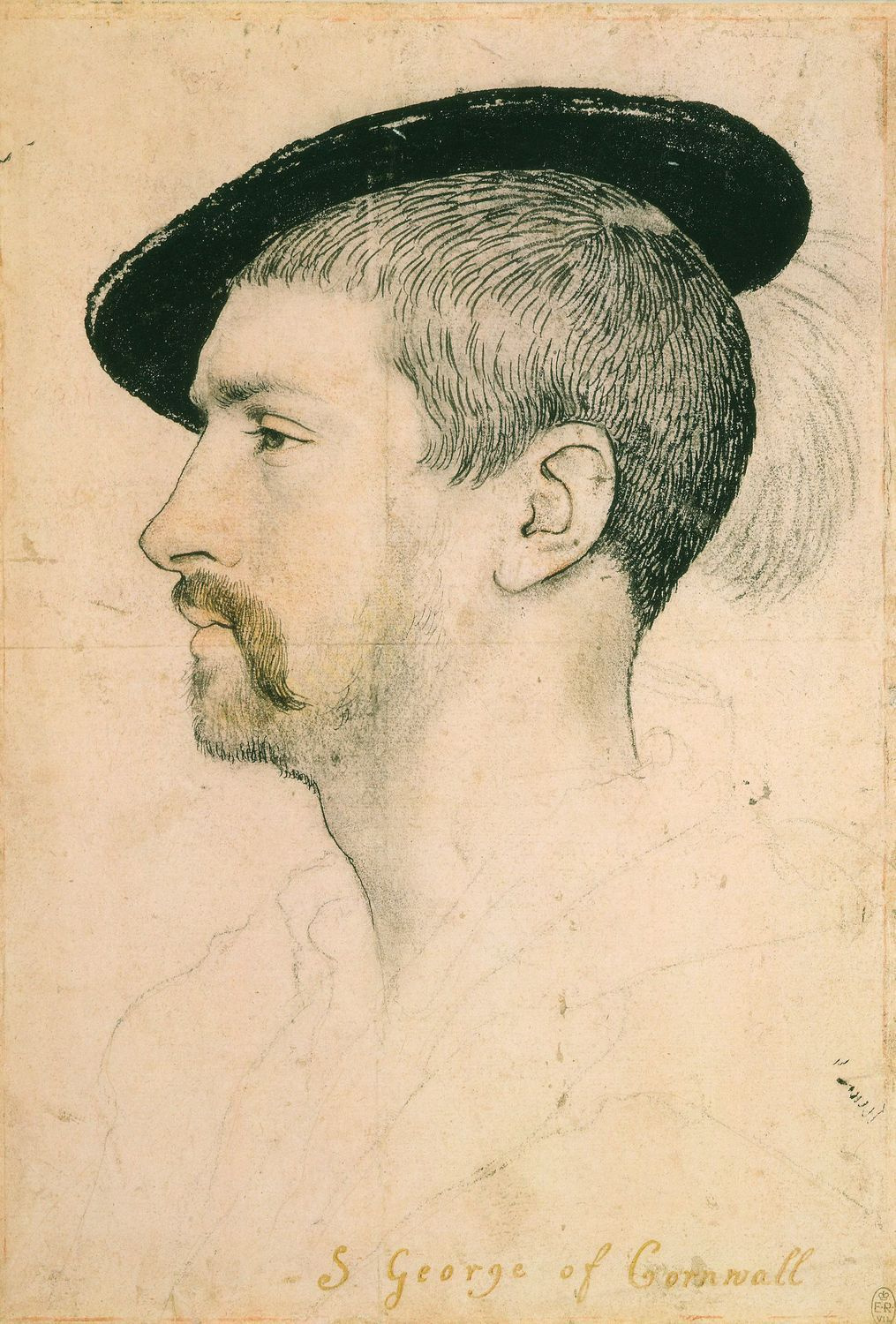 Portrait of Simon George. c.1535-37