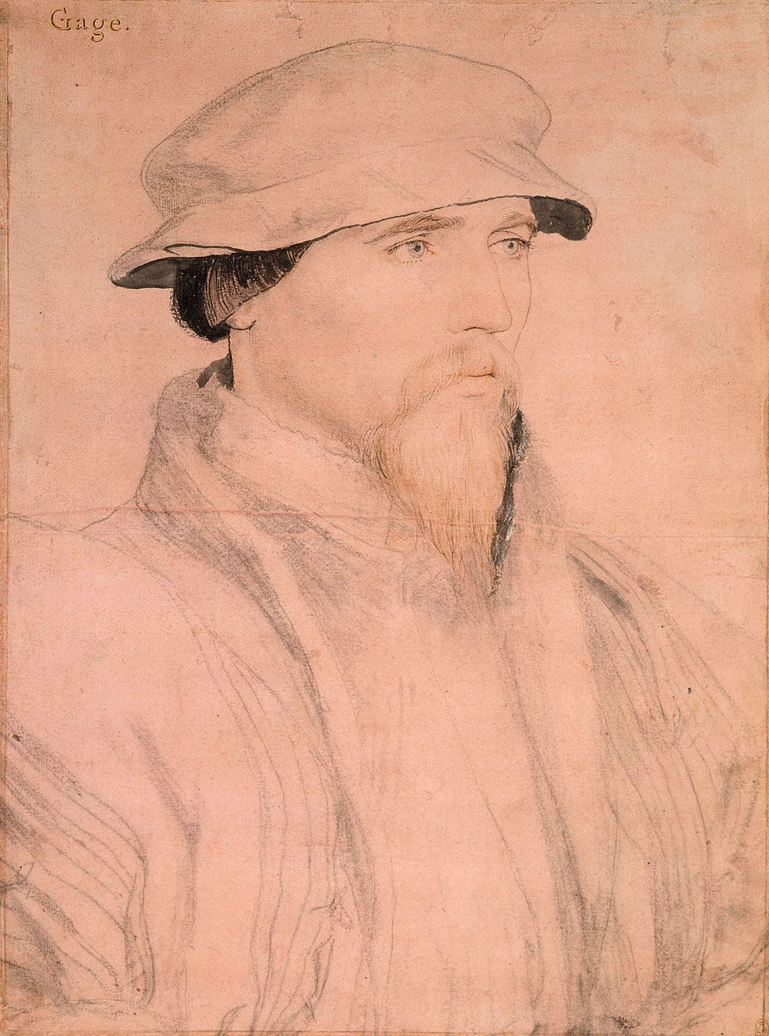 Portrait of Sir John Gage. c.1535-40