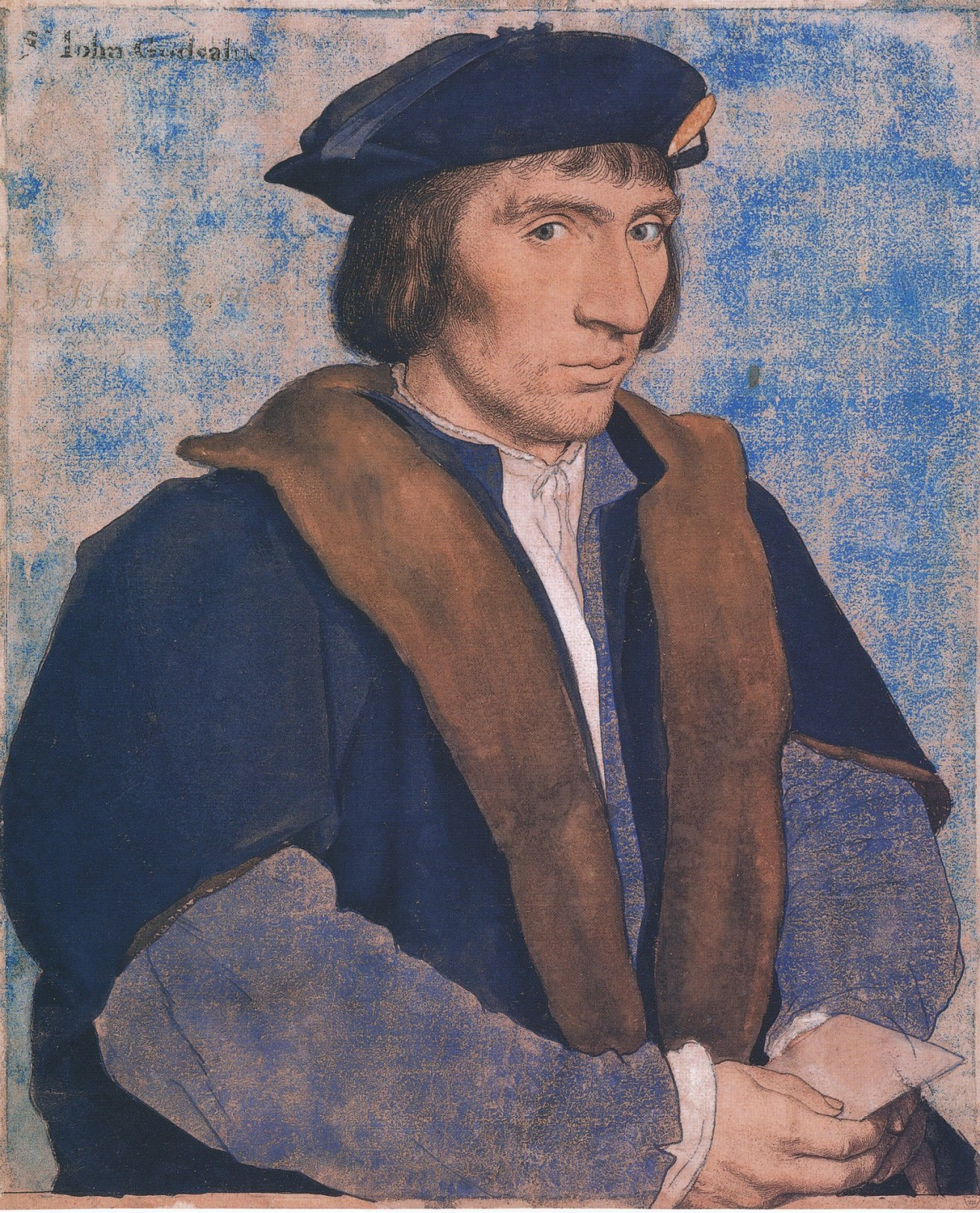 Portrait of Sir John Godsalve. c.1532-33