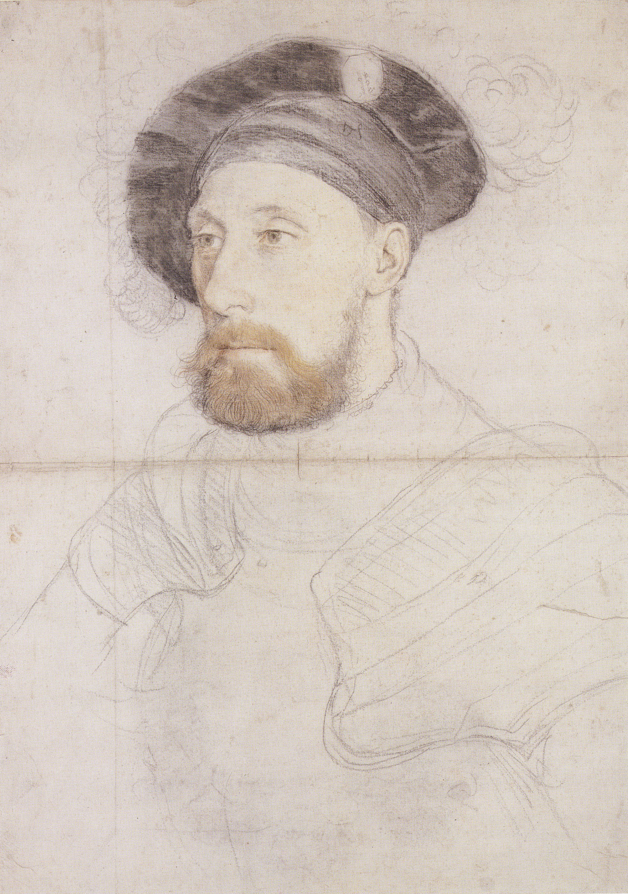 Portrait of Sir Nicholas Carew. 1527-28