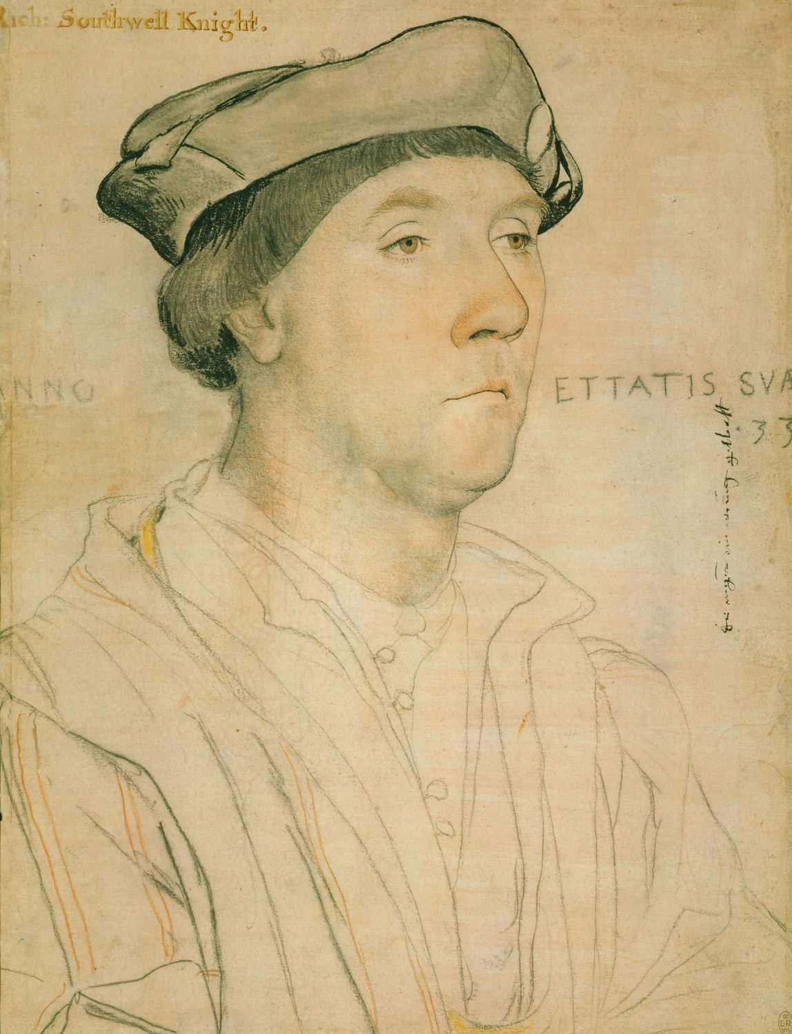 Portrait of Sir Richard Southwell. 1536