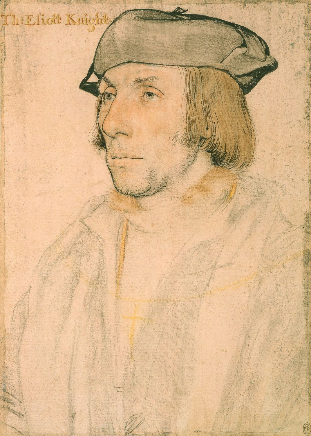 Portrait of Sir Thomas Elyot. 1532-34
