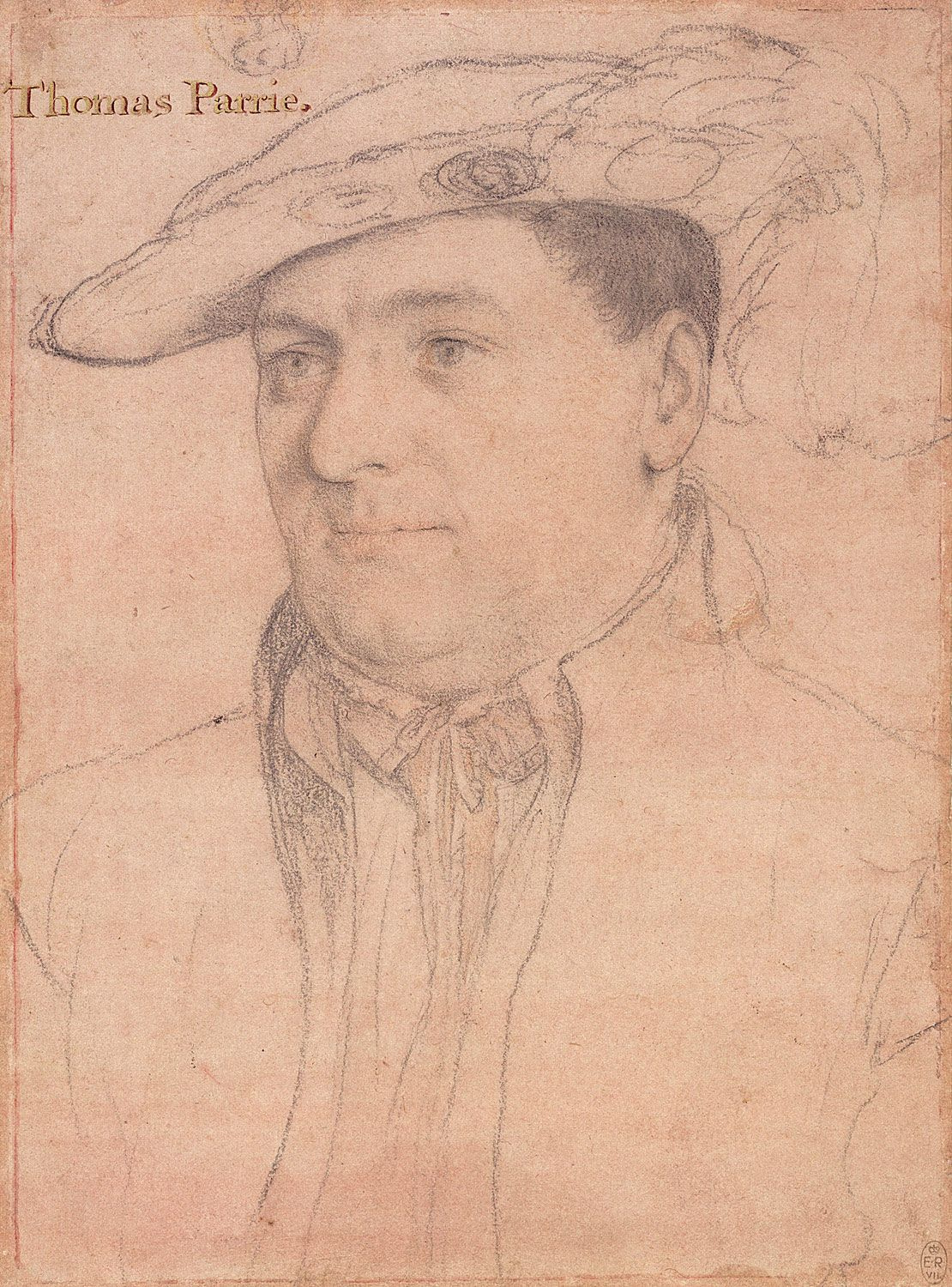 Portrait of Sir Thomas Parry. c.1538-40