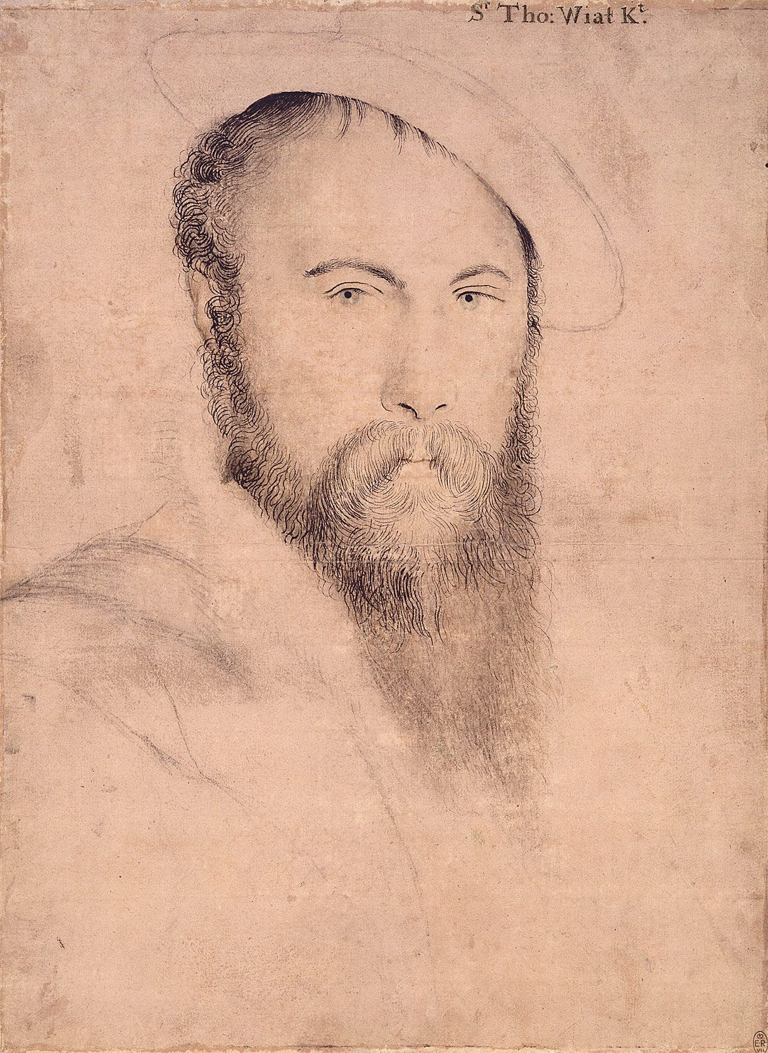 Portrait of Sir Thomas Wyatt