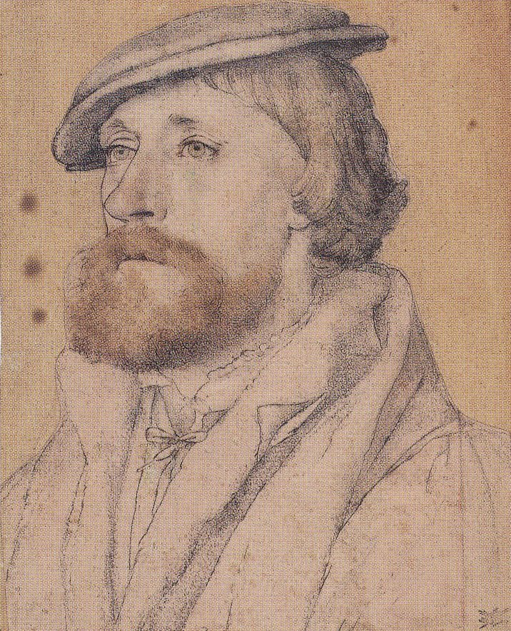 Portrait of Thomas Wriothesley, Earl of Southampton. c.1536-40