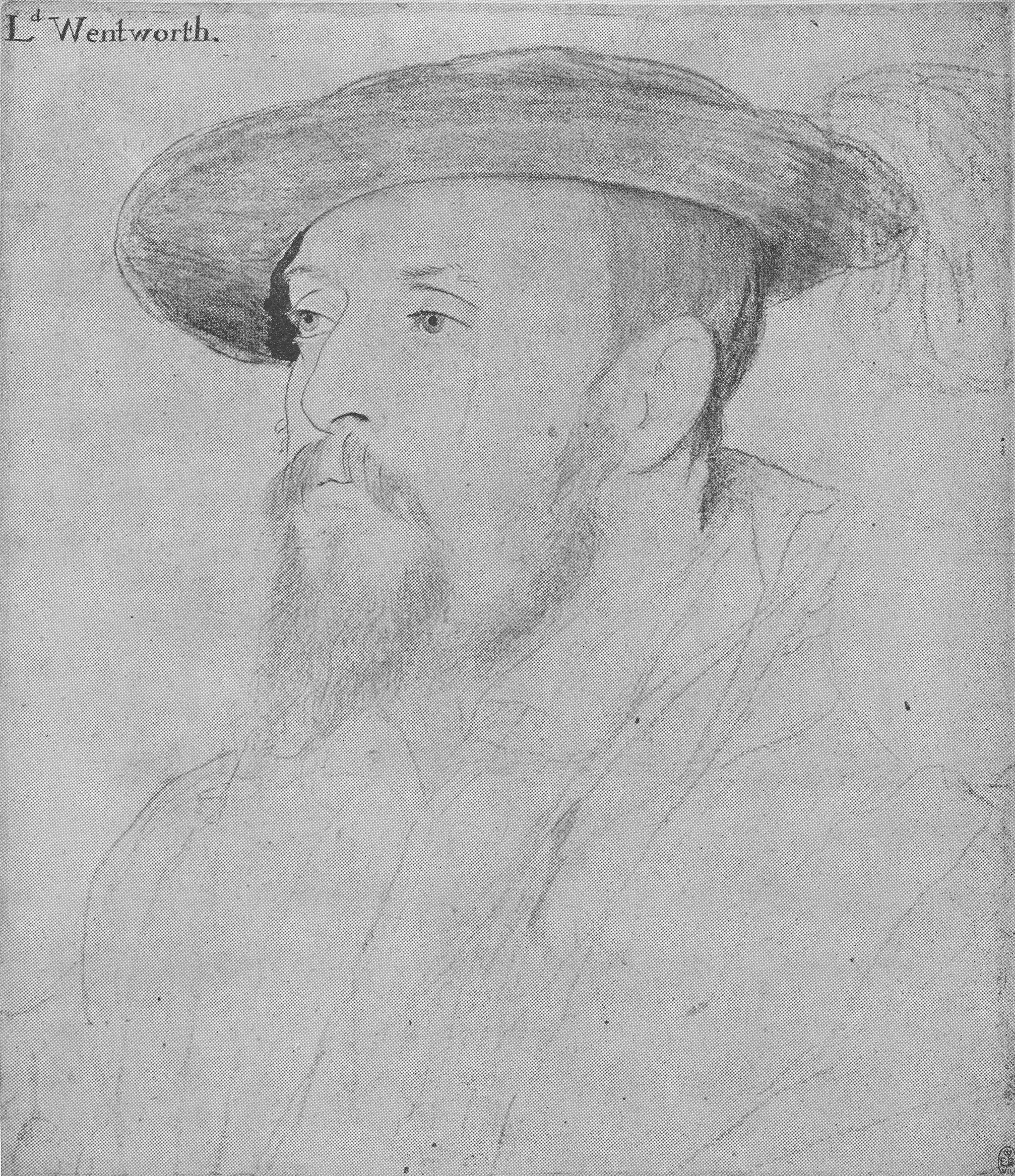 Portrait of Thomas, Baron Wentworth. 1532-43