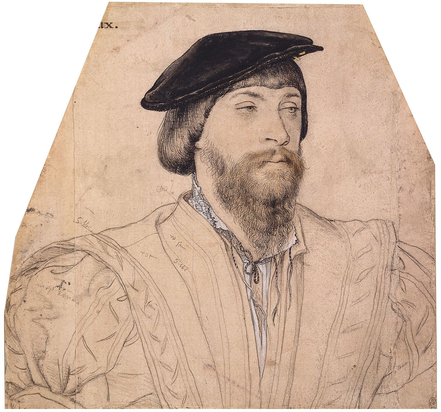 Portrait of Thomas, Lord Vaux. c.1535-40