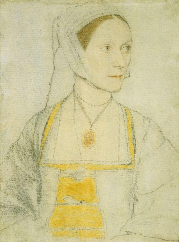 Portrait study of Cecily Heron. c.1527