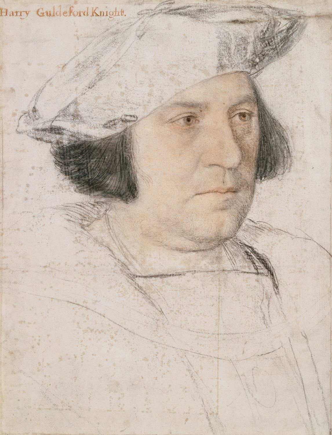 Portrait Study of Sir Henry Guildford. 1527