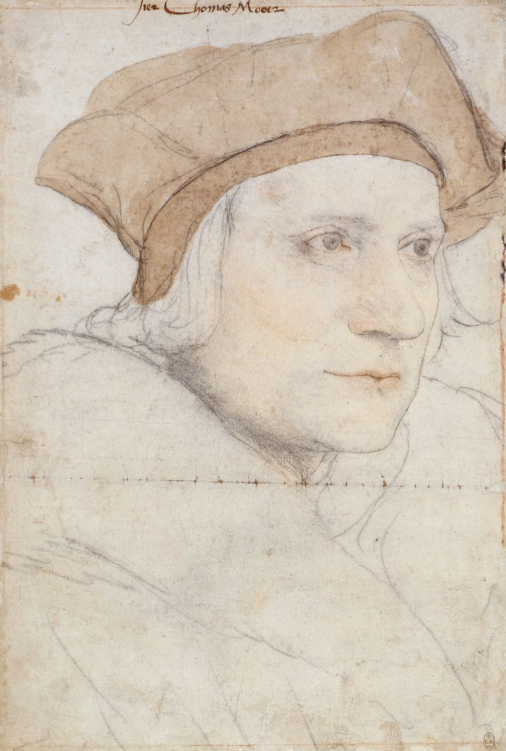 Portrait Study of Sir Thomas More. 1526-27