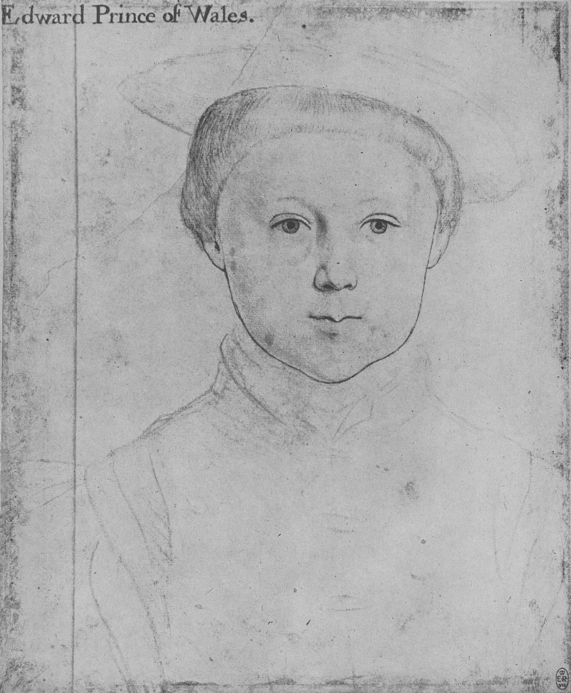 Possible portrait of Edward, Prince of Wales. 1542-43