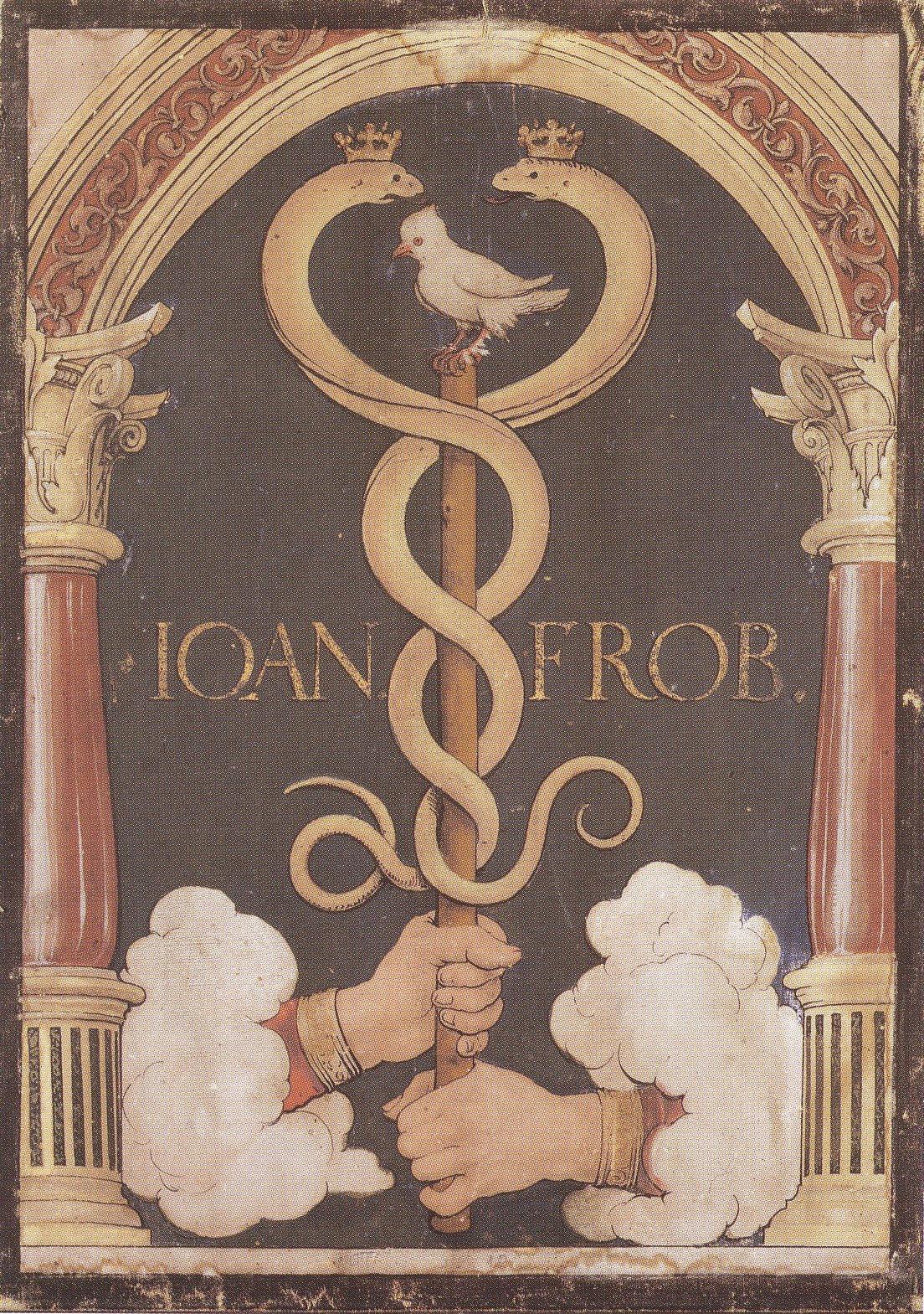 Printer's Device of Johannes Froben. c.1523