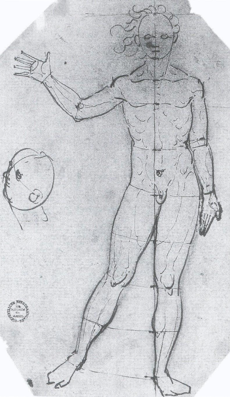 Proportion Study. c.1535