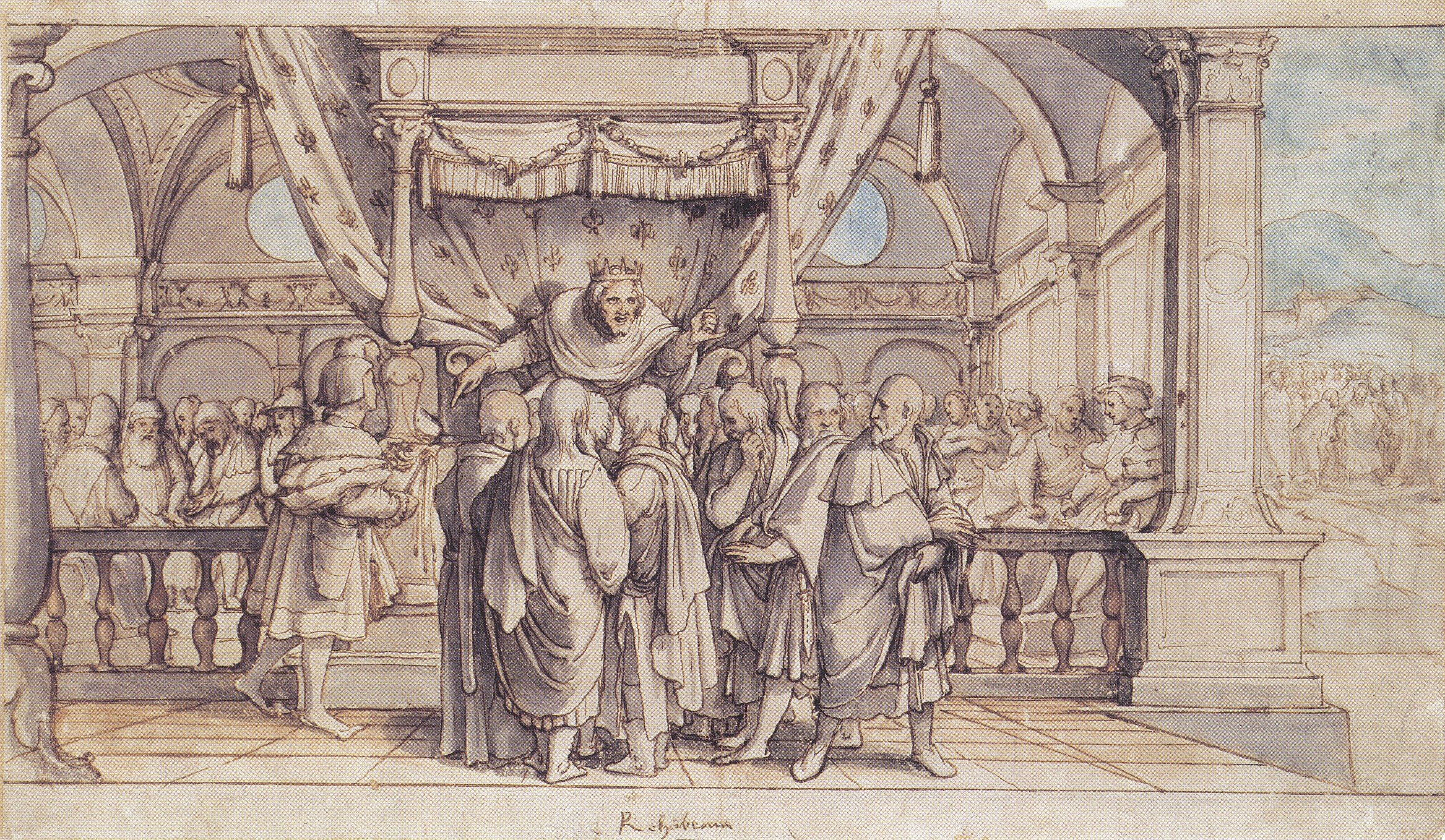 Rehoboam's Insolence. 1530