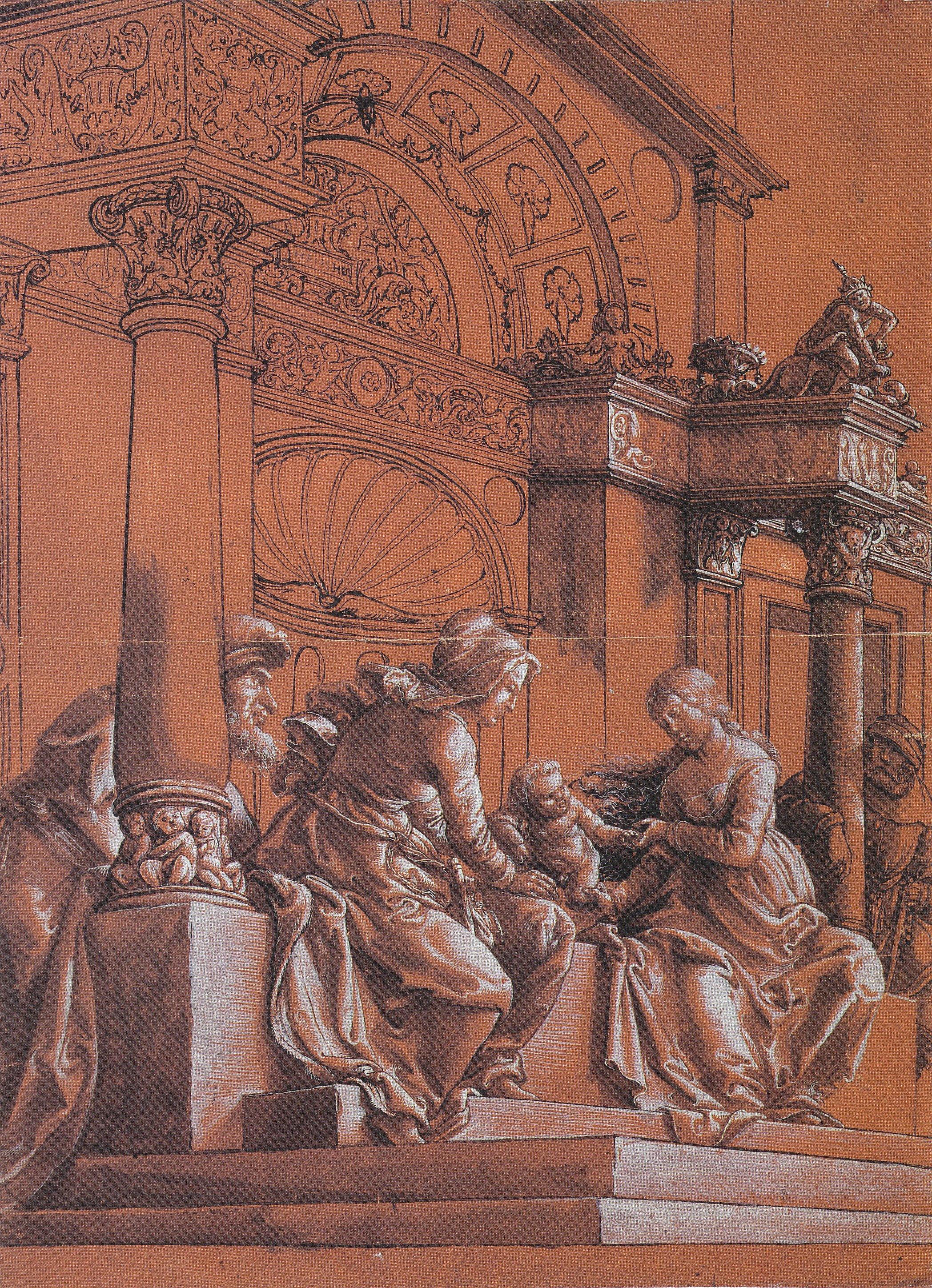 The Holy Family. около 1517