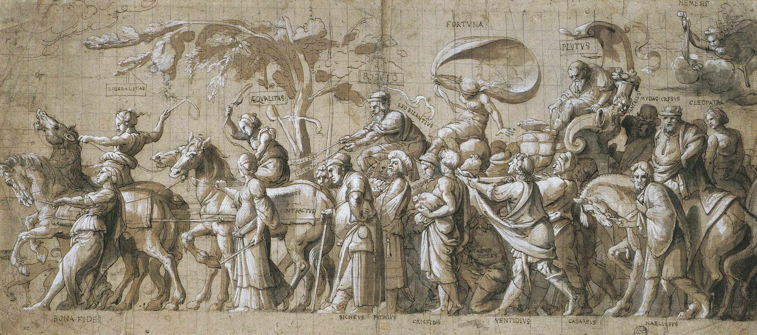 Triumph of Wealth. c.1532-34