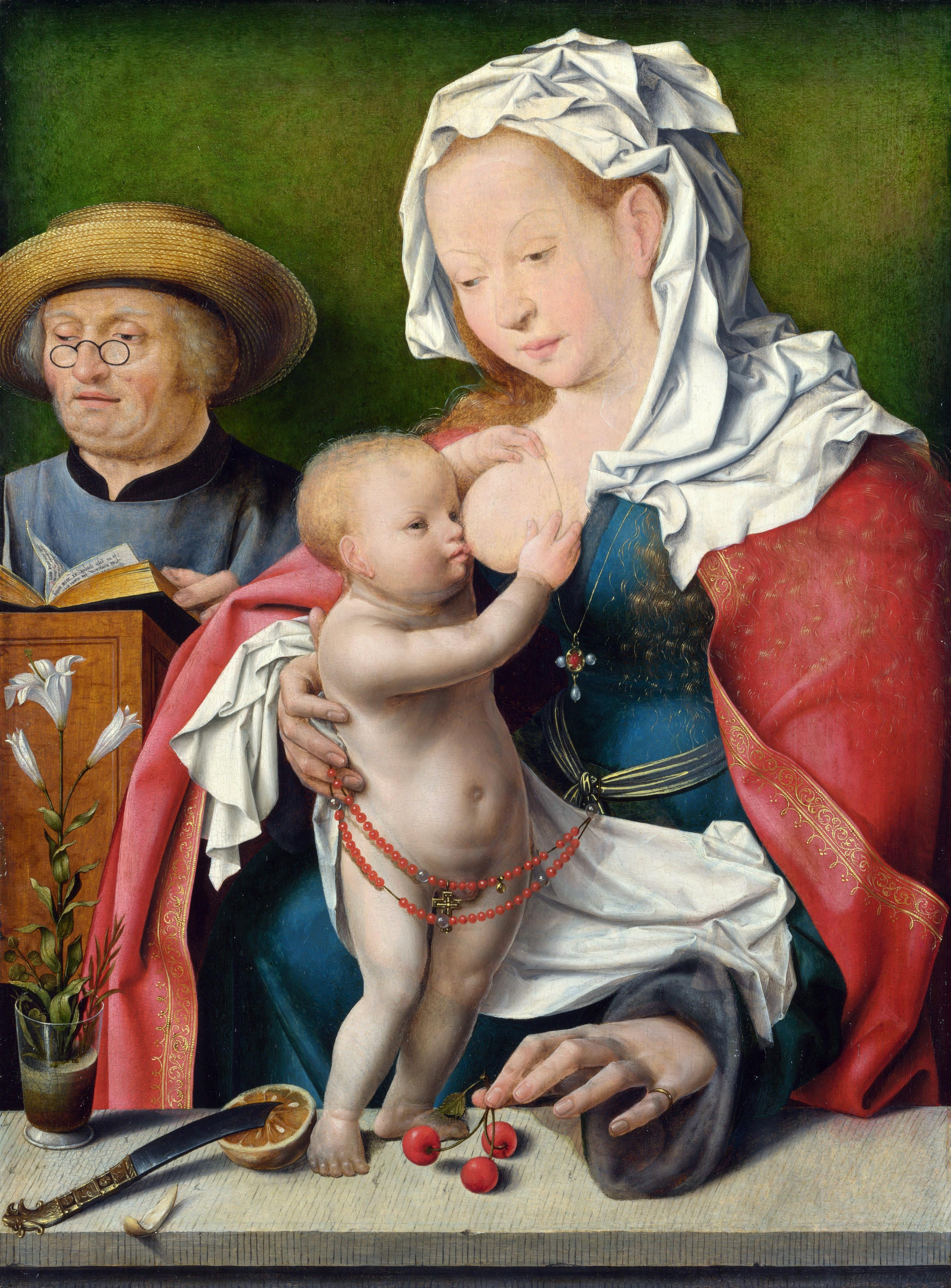 Holiness Family (about 1515-1520) (London, Nat gallery)