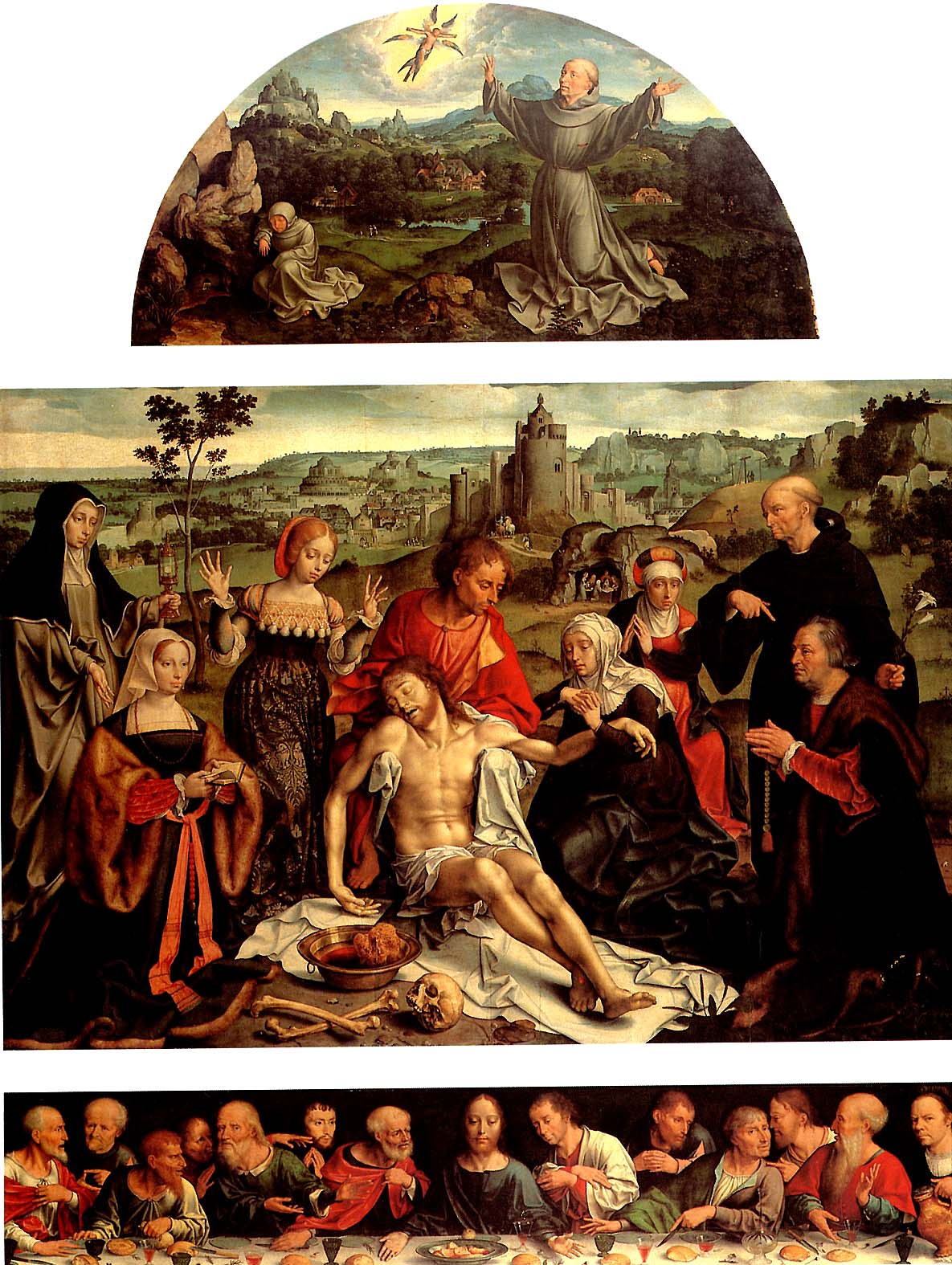 Lamentation (altarpiece) (between 1520 and 1525) (Paris, Louvre)