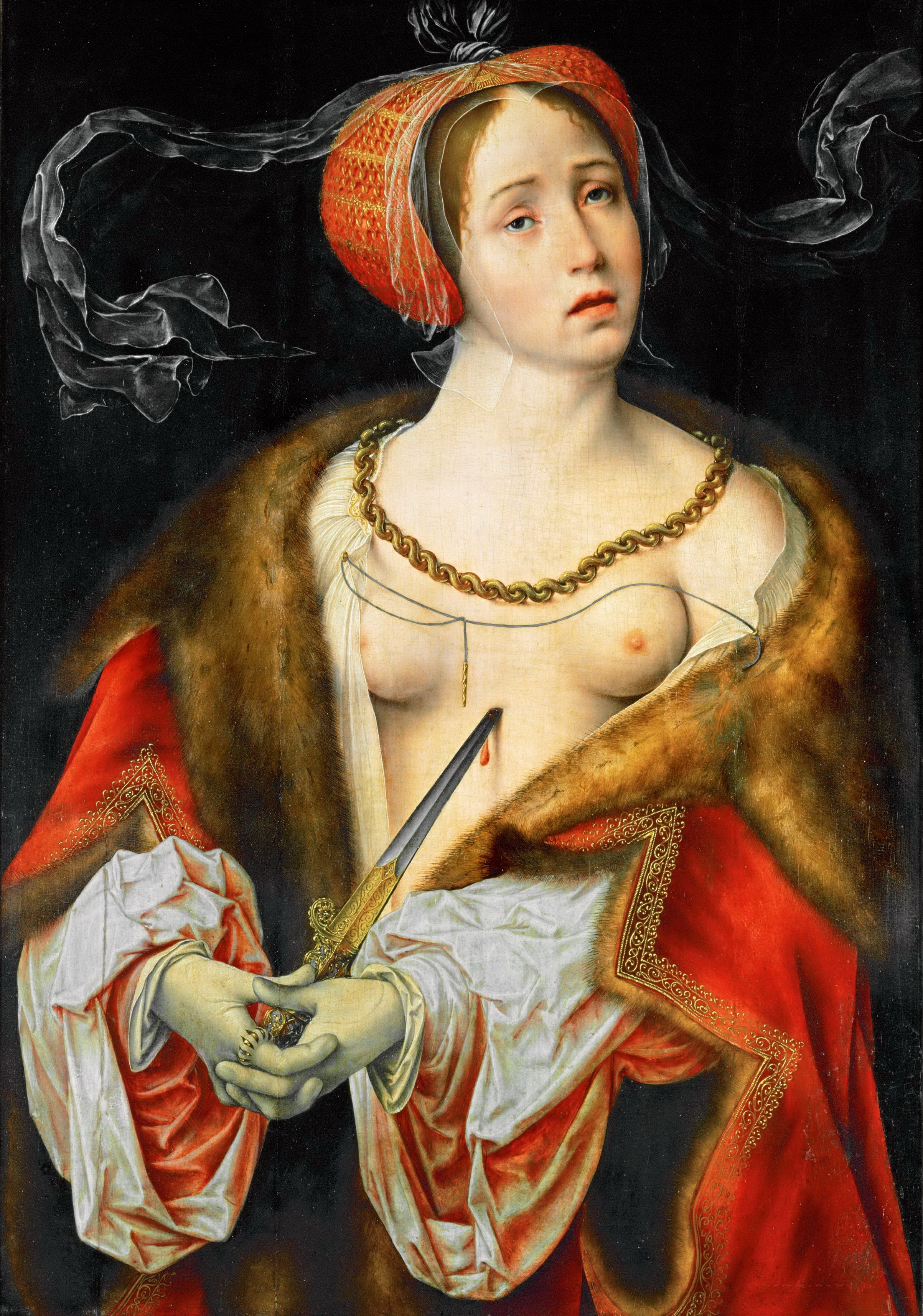 Lucretia (1520-1525) (76 x 54) (Vienna, Kunsthistorisches Museum)