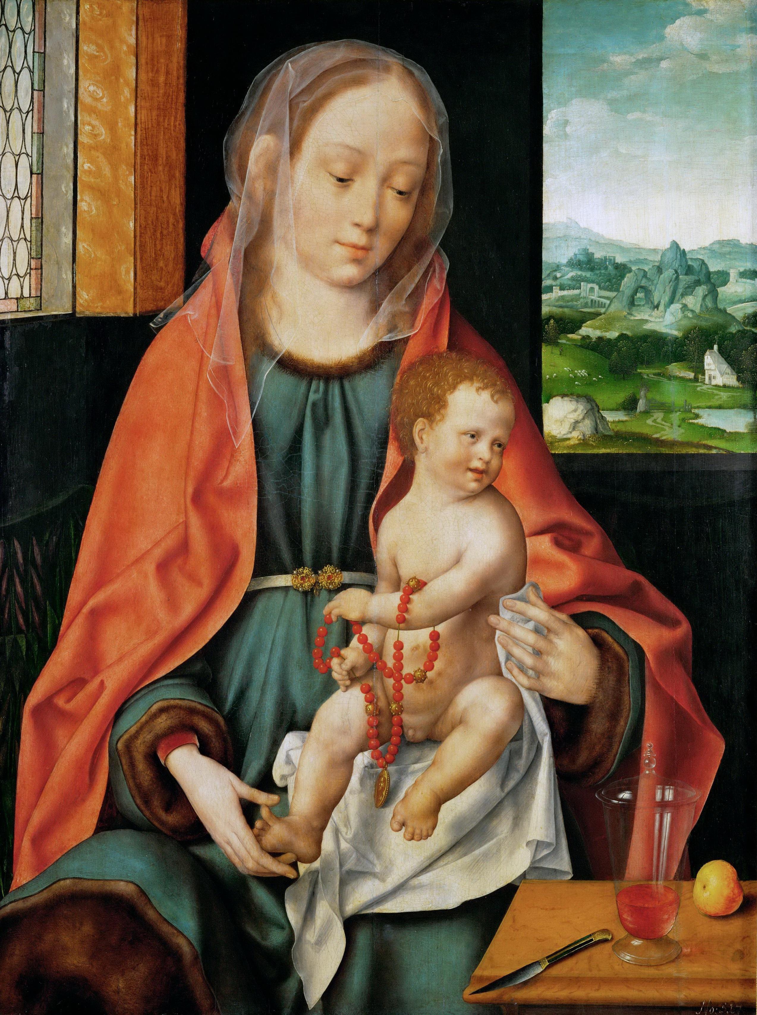 Madonna and Child (about 1530) (74 x 56) (Vienna, Kunsthistorisches Museum)
