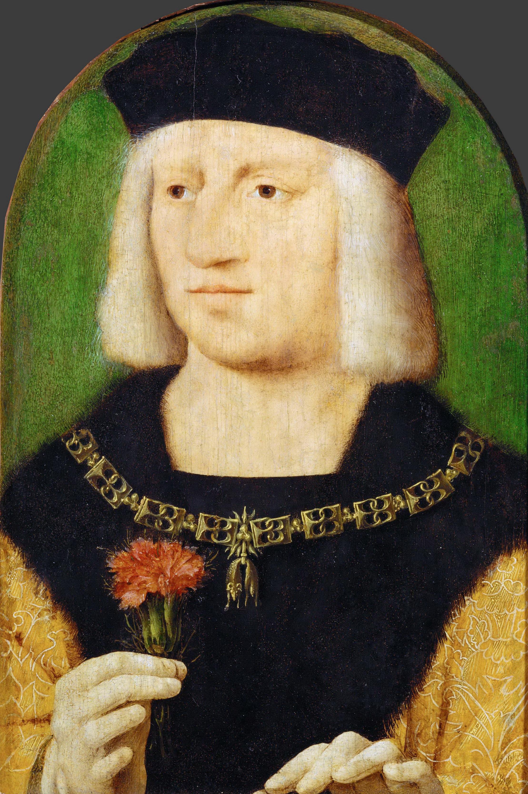 Portrait of Emperor Maximilian I (About 1509) (28 x 22) (Wien)