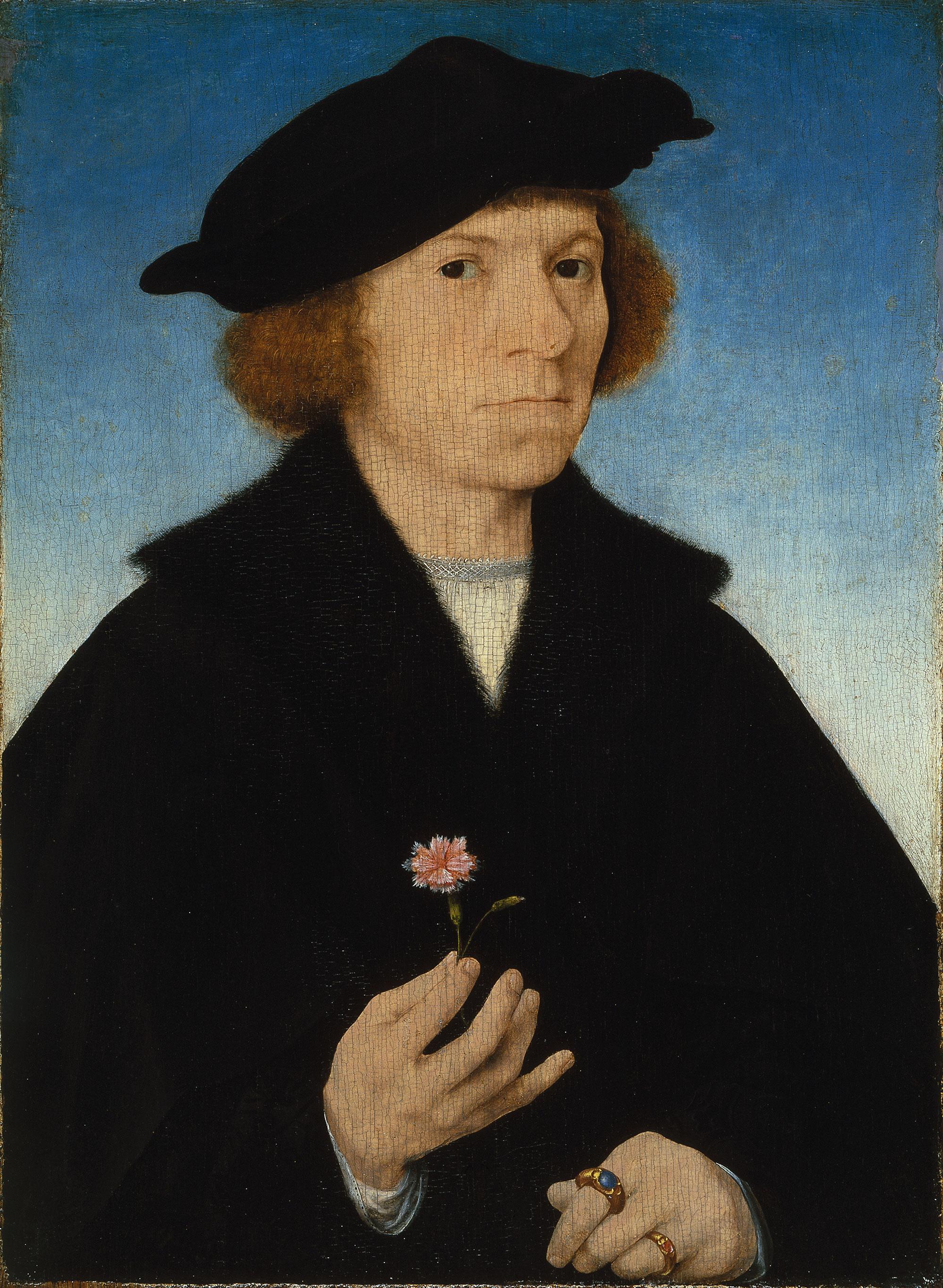 Self Portrait (about 1519) (38 x 27) (Madrid, Museum Tissena)