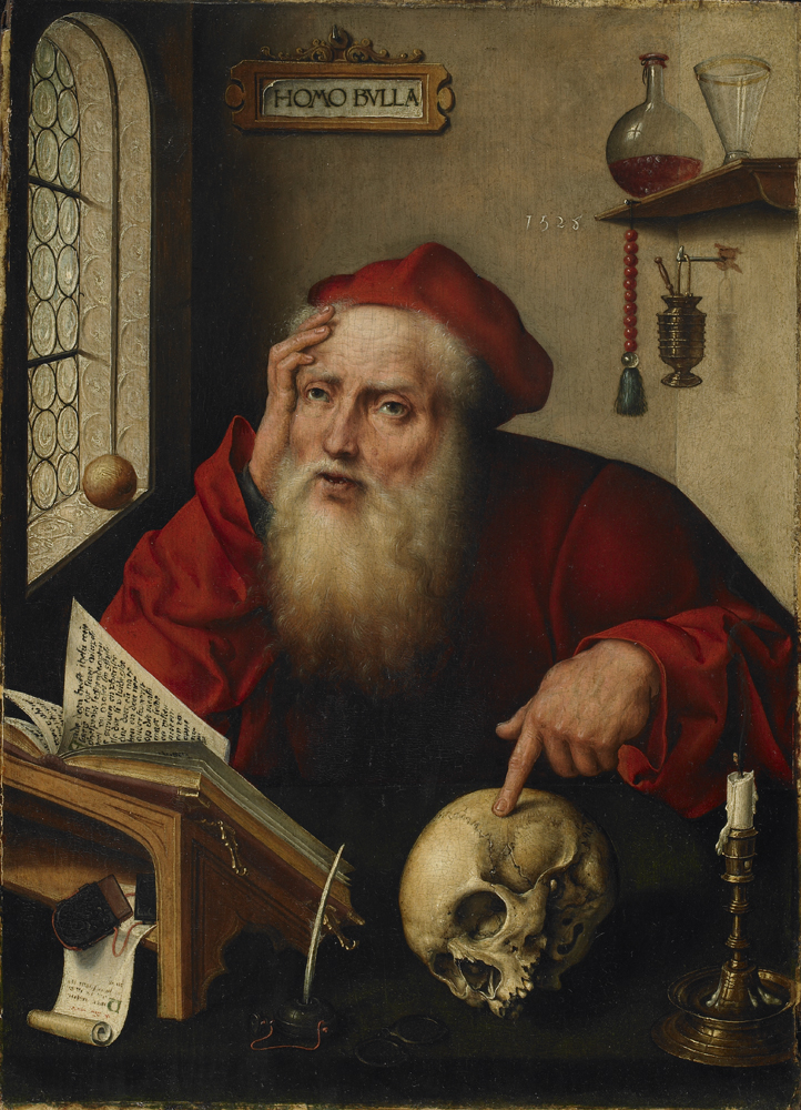 St. Jerome in study (1528) (39.7 x 28.8)