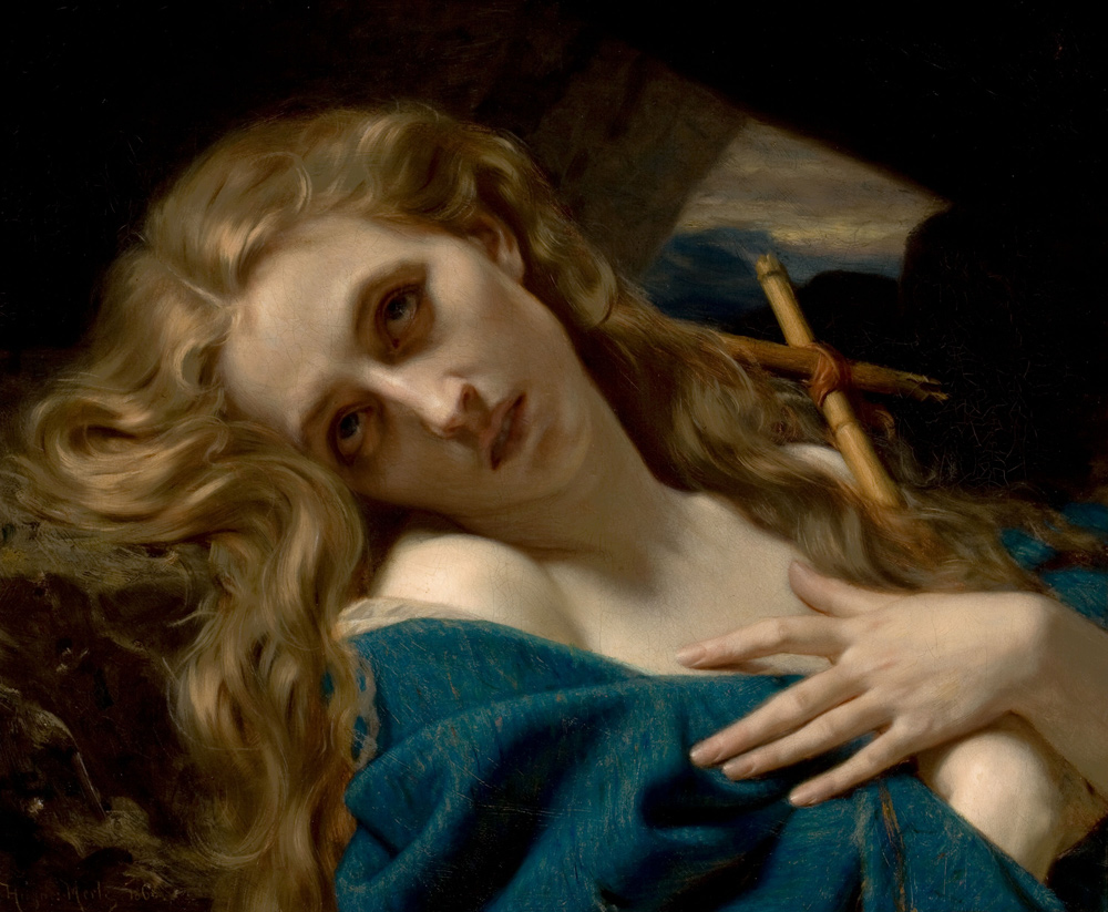 Mary Magdalene in the Cave