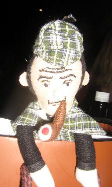 Sherlock puppet