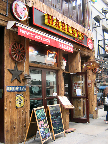 "Harley""s Smokeshack, aka The Irish Rogue"