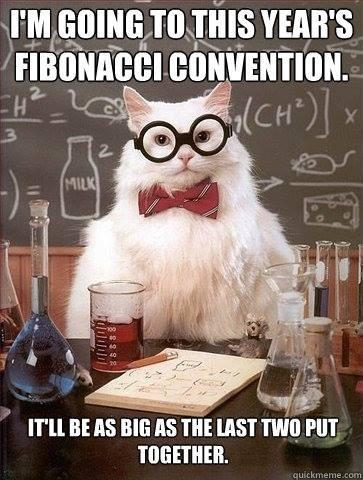 Fibonacci meme
