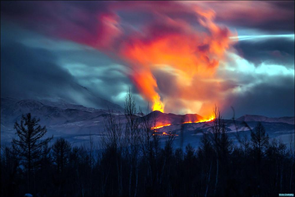 Извержение Плоского толбачика
