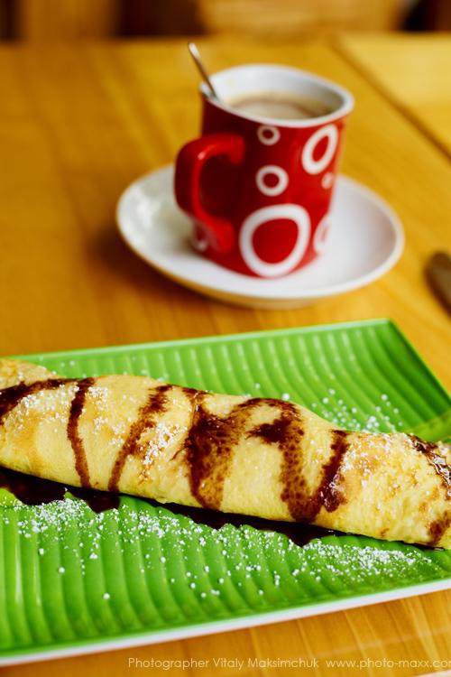 Pancake-on-breakfast