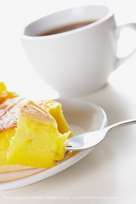 Cake-and-tea-on-white