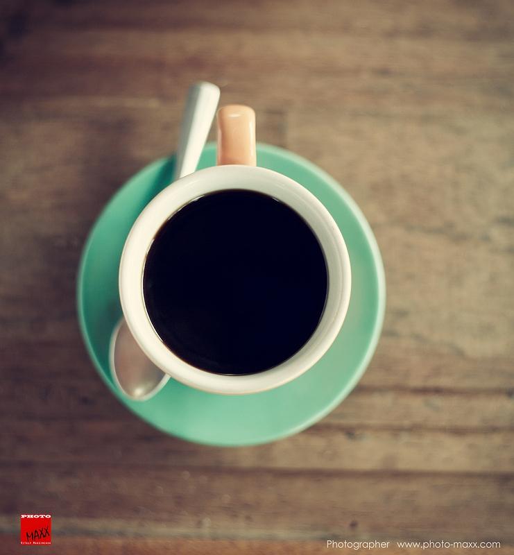 un café negro