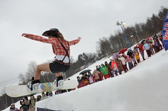Red Bull Jump & Freeze 2012, Аква-Шоу в Коробицино