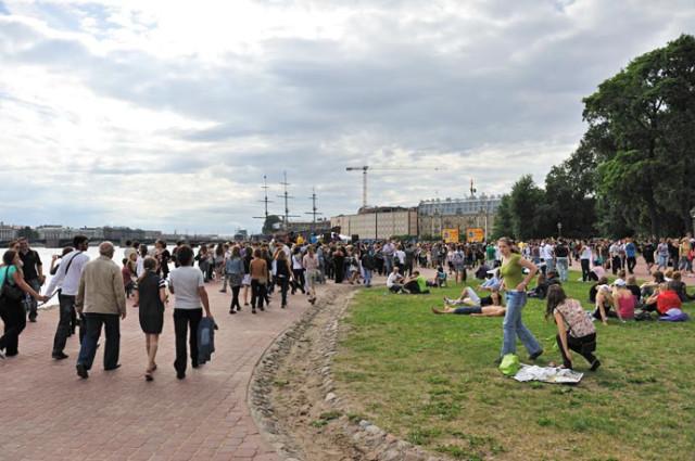 День молодежи у Петропавловской крепости