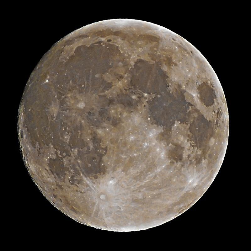 О цвете Луны