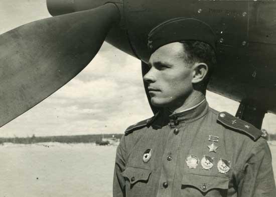 Герой Советского Союза Кутахов П.С.
