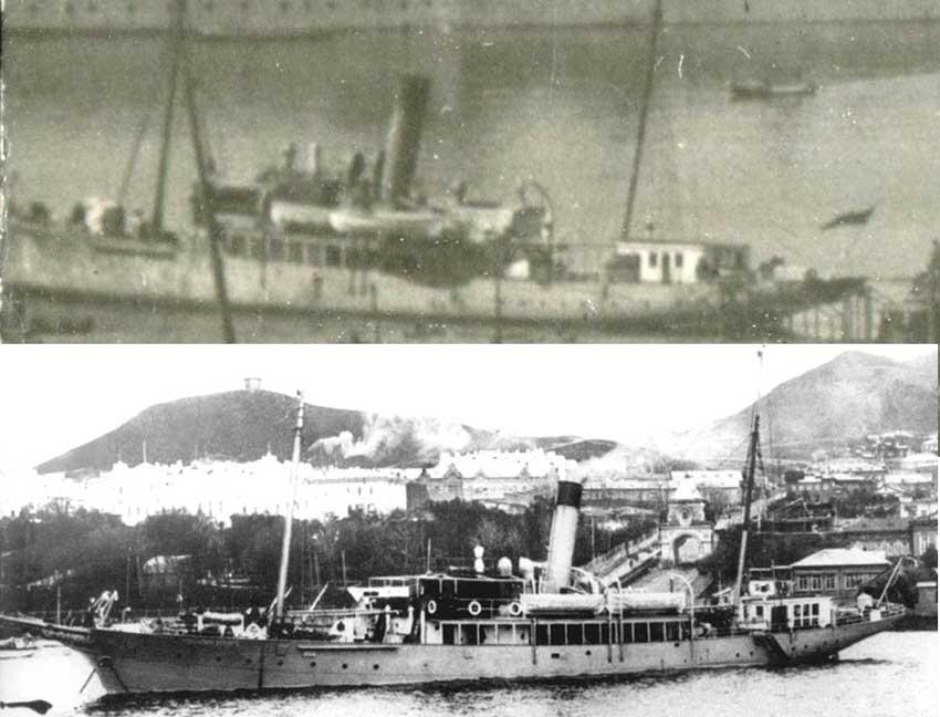 №2 Охранный крейсер Командор Беринг (или Лейтенант Дыдымов)