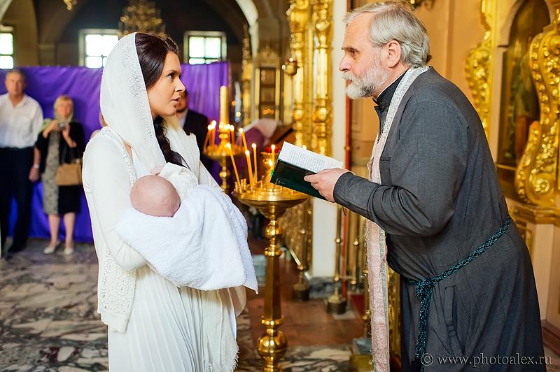 Фотосъемка крещения в заиконоспасском монастыре